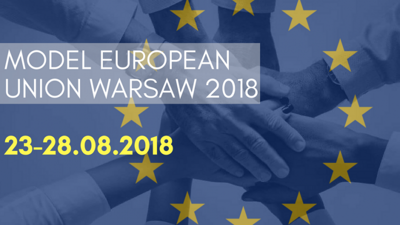 Model European Union Warsaw 2018