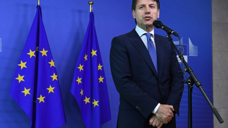 Premier Włoch Giuseppe Conte, źródło: European Council