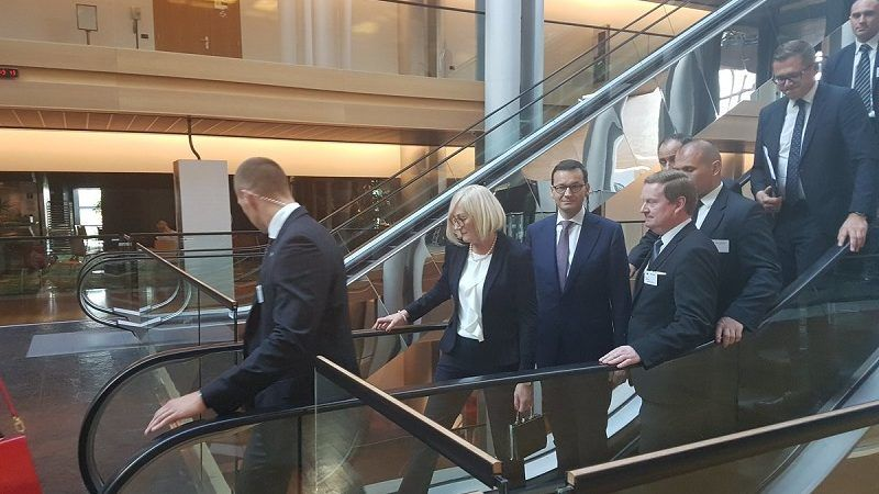 Premier Morawiecki w PE, źródło twitter.comr_czarnecki