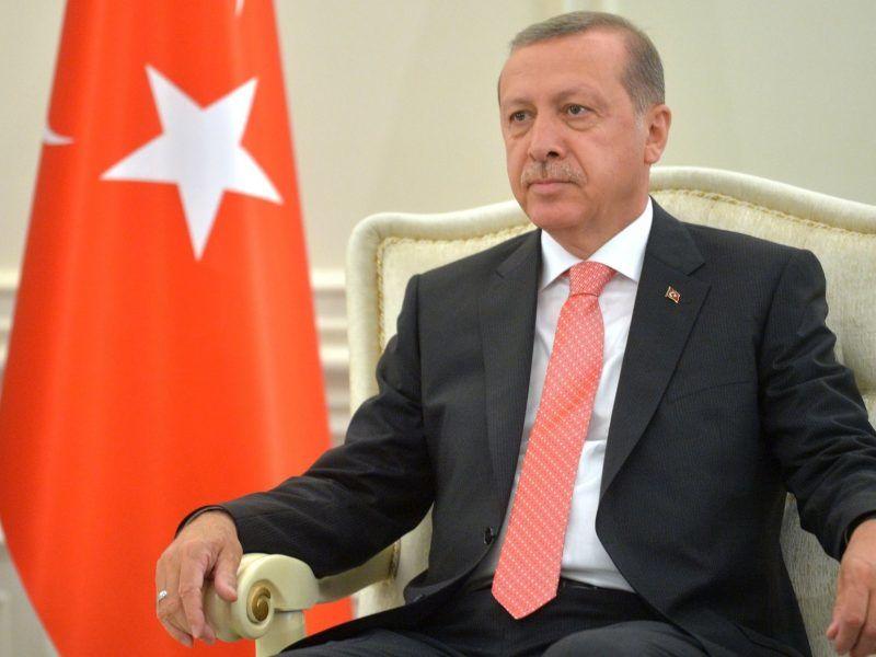 Prezydent Turcji Recep Tayyip Erdogan, źródło: en.kremlin.ru