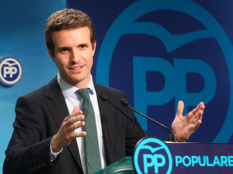 Pablo Casado, źródło: Wikipedia/PP Comunidad de Madrid