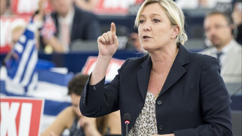 Marine Le Pen, źródło: Flickr/© European Union 2015 - European Parliament