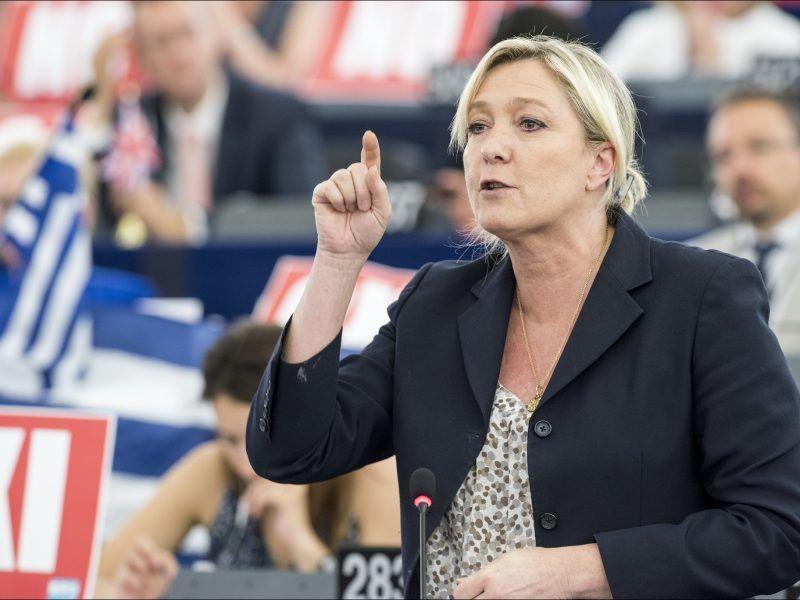 Marine Le Pen, źródło: Flickr/© European Union 2015 - European Parliament