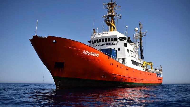 "Statek ""Aquarius"", źródło: Flickr/Ministerio de Defensa"