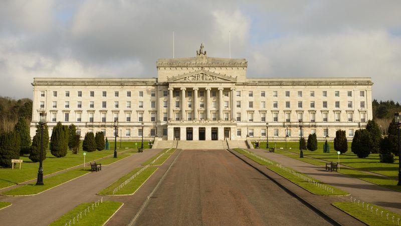 Zamek Stormont, oficjalna siedziba władz lokalnych Irlandii Północnej, źródło: Flickr/Son of Groucho