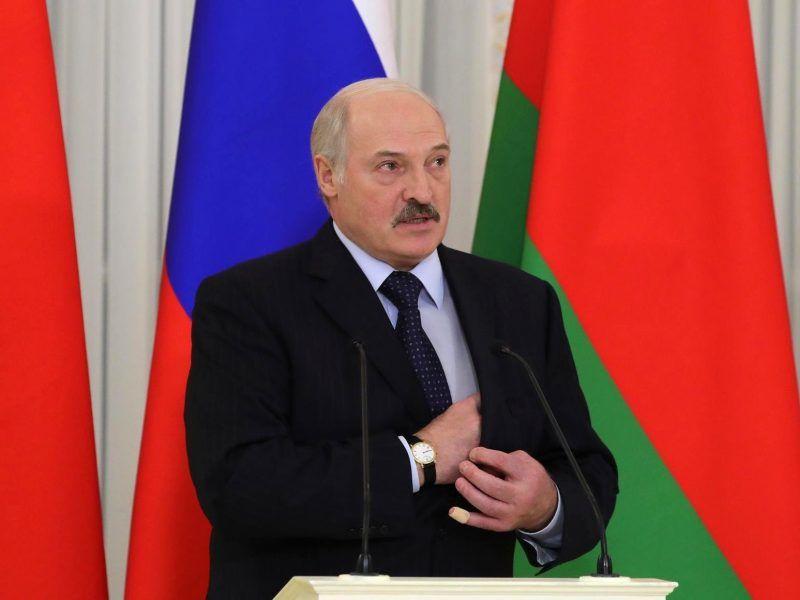 Prezydent Białorusi Alaksandr Łukaszenka podczas ubiegłorocznej wizyty w Rosji, źródło: en.kremlin.ru