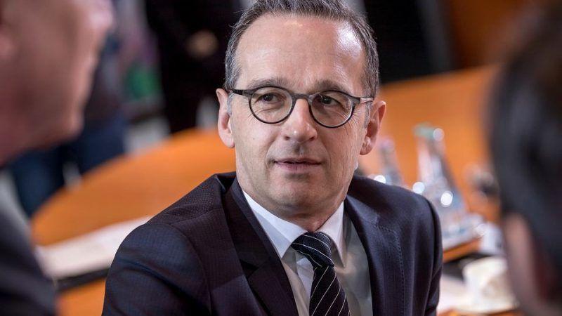 Heiko Maas, źródło: https://wyborcza.pl/7,75399,23802859,szef-niemieckiej-dyplomacji-wartosci-europy-nie-sa-do-negocjacji.html