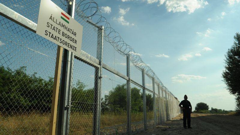 Granica węgiersko-serbska, źródło: Wikipedia, fot. Délmagyarország/Schmidt Andrea