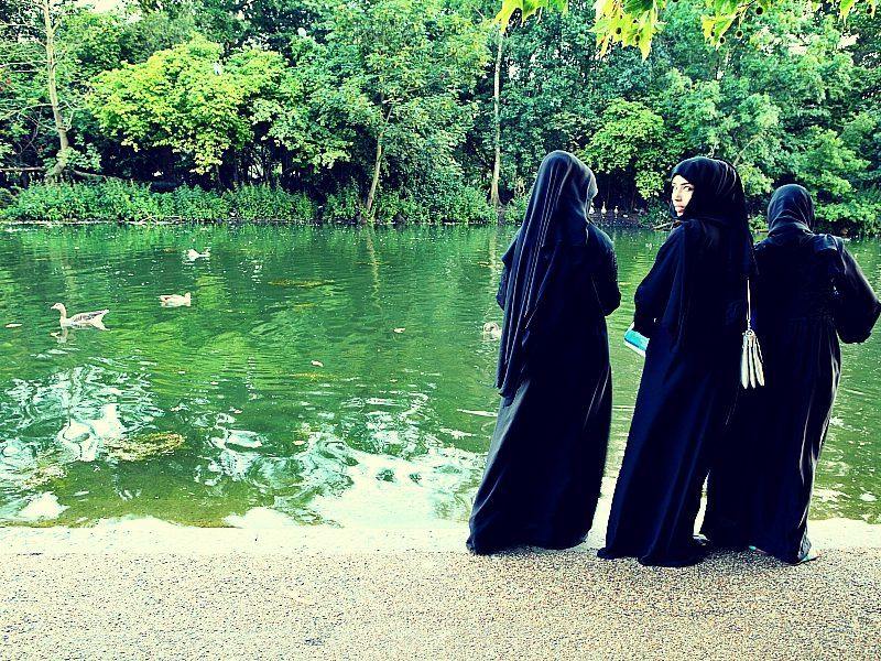 Konserwatywne muzułmanki w Europie, źródło: Flickr, fot. Roberto Trombetta