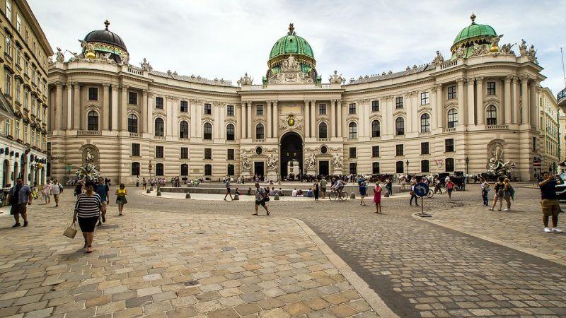 Pałac Hofburg w Wiedniu, źródło: Pixabay/domeckopol