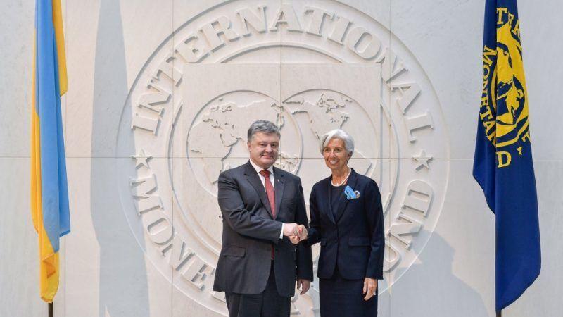W ocenie MFW reformy gospodarcze na Ukrainie nie postępują w odpowiednim tempie. Źródło: Ministerstwo Spraw Zagranicznych Ukrainy