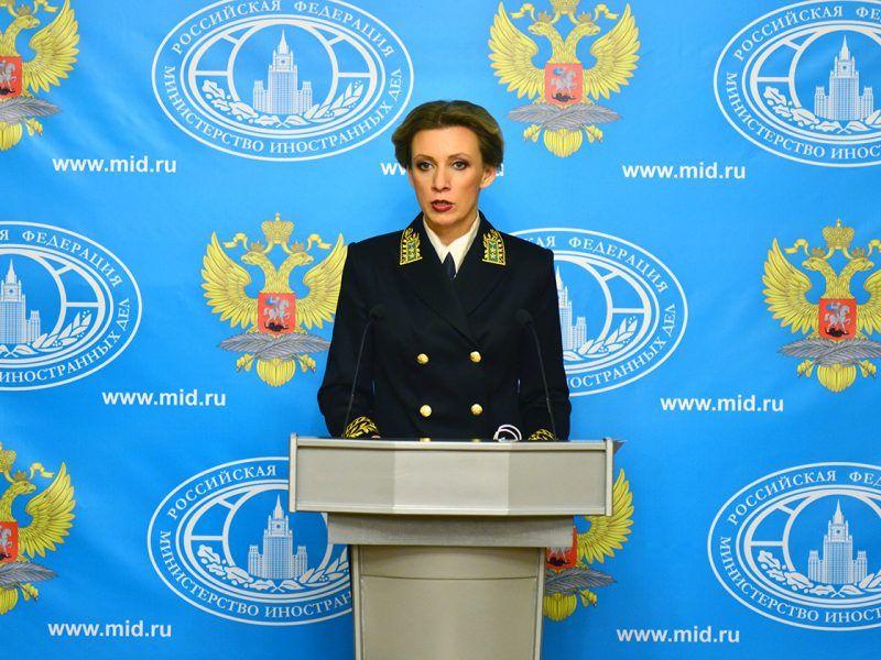 Rzeczniczka MSZ Rosji Maria Zacharowa, źródło: MSZ Rosji, fot. Nikita Koczuk (https://www.mid.ru/ru/press_service/spokesman/briefings/-/asset_publisher/D2wHaWMCU6Od/content/id/2074106#11)