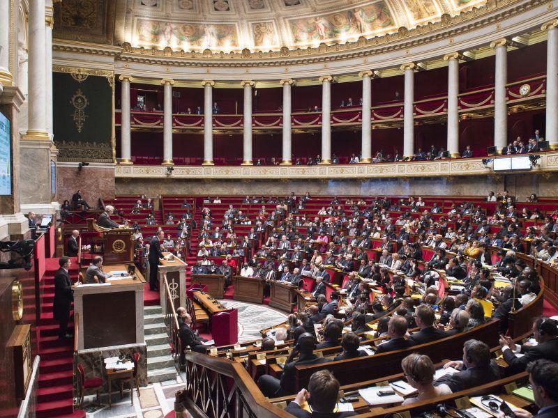 Sala plenarna francuskiego Zgromadzenia Narodowego, źródło: Flickr/United Nations Photo, fot. Eskinder Debebe