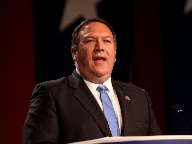 Sekretarz Stanu USA Mike Pompeo, źródło: Flickr, fot. Gage Skidmore