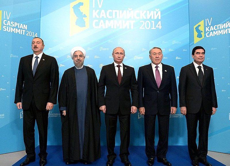 Coraz bliżej zakończenia jest spór o status prawny Morza Kaspijskiego, co może sprawić, że w przyszłości gazociągiem Transkaspijskim popłynie do Europy gaz z Turkmenistanu. Źródło: https://en.kremlin.ru/events/president/news/46686
