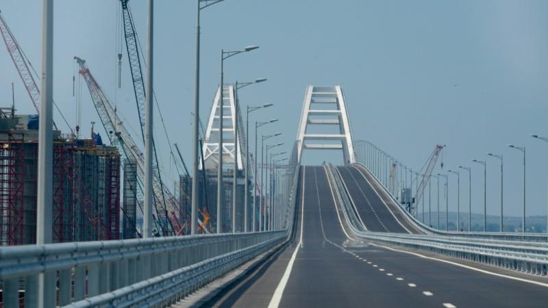 Drogowa część Mostu Krymskiego, źródło: en.kremlin.ru
