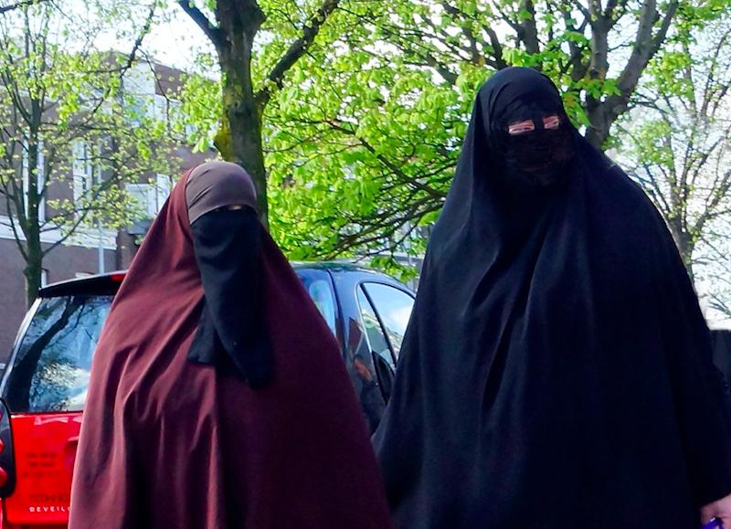 Konserwatywne muzułmanki w Europie, źródło: Flickr, fot. Roel Wijnants
