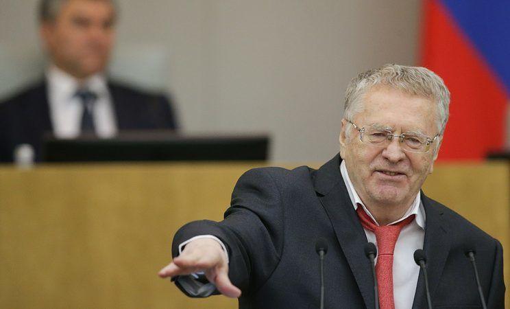 Lider LDPR Władimir Żyrinowski. Źródło: Russian State Duma Photo Service.