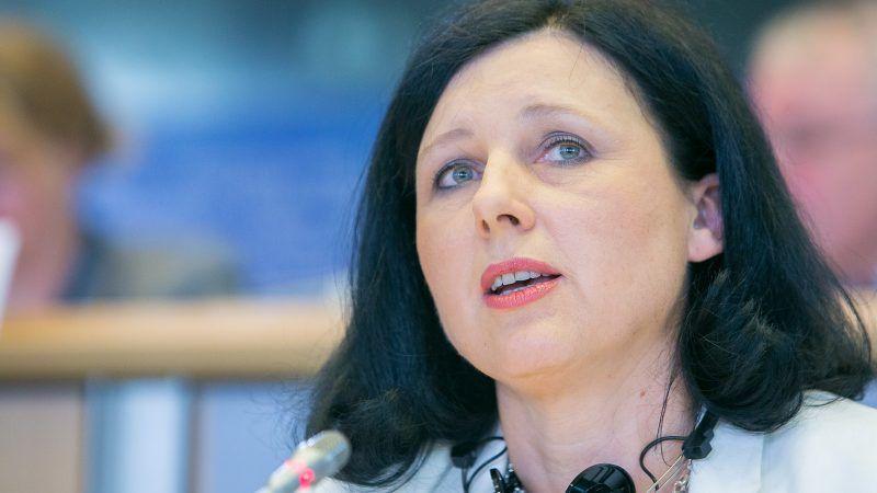 Wiceprzewodnicząca Komisji Europejskiej Věra Jourová, źródło: Flickr/EPP-Group