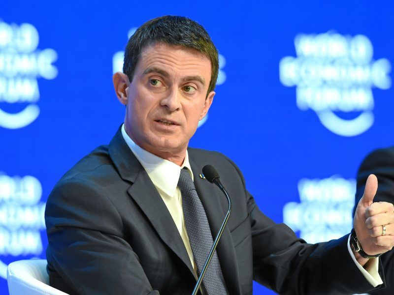 Manuel Valls, źródło: Flickr/WORLD ECONOMIC FORUM/swiss-image.ch/Photo Valeriano Di Domenico