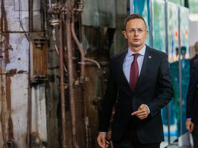 Minister spraw zagranicznych Węgier Peter Szijjarto, źródło: Flickr/EU2017EE Estonian Presidency, fot. Arno Mikkor