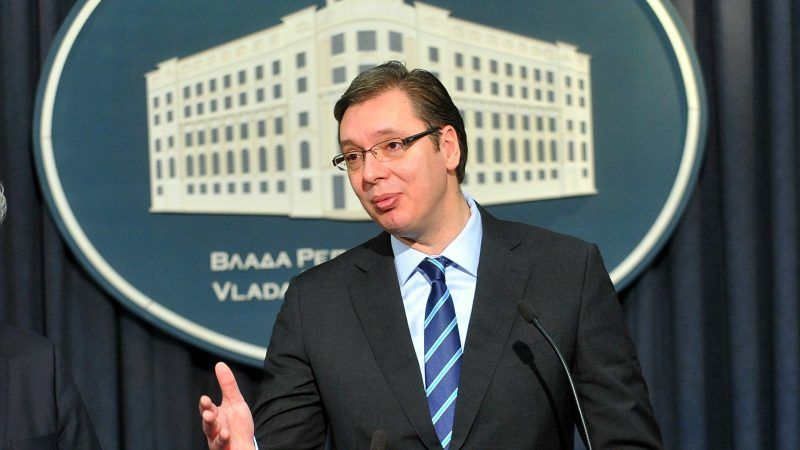 Prezydent Serbii Aleksandar Vučić. Źródło: Komisja Europejska