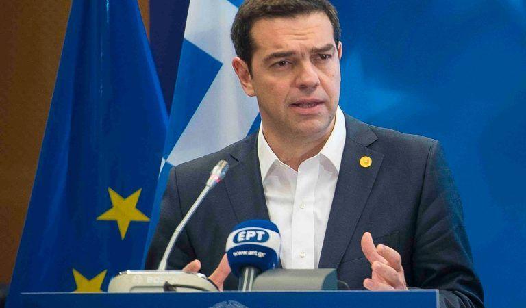 Grecki premier w wystąpieniu na forum Parlamentu Europejskiego podsumował okres 8 lat trudnych reform związanych z kryzysem, który uderzył w grecką gospodarkę. Źródło: https://primeminister.gr/en/the-prime-minister/alexis-tsipras