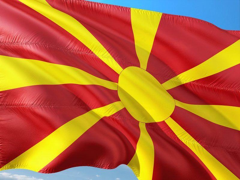 Flaga Macedonii, źródło: MaxPixel