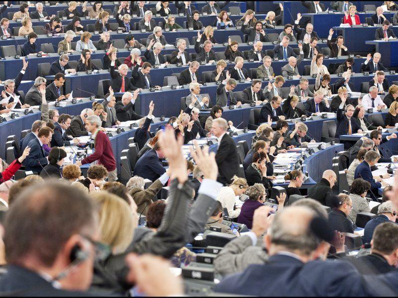 Głosowanie w Parlamencie Europejskim, źródło: © European Union 2012 - European Parliament