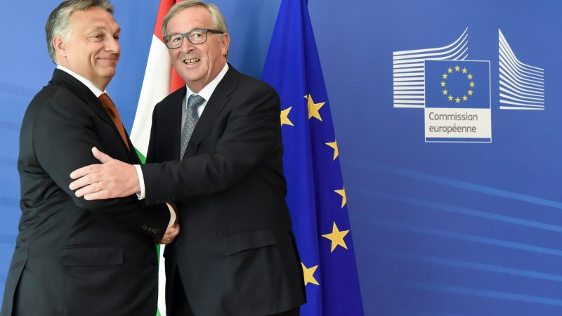 Viktor Orban i Jean Claude Juncker. Źródło: Komisja Europejska