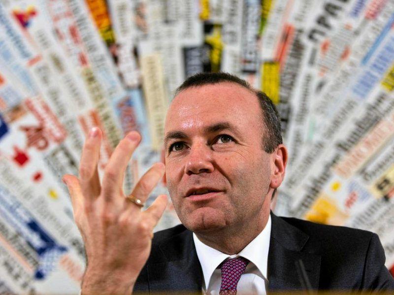 Manfred Weber, źródło: Gazeta Wyborcza