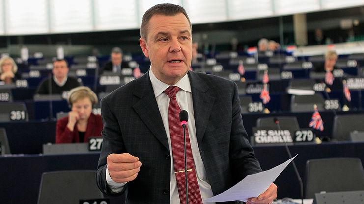 Eurodeputowany Mark Demesmaeker (EKR) autor sprawozdania. Źródło: Parlament Europejski