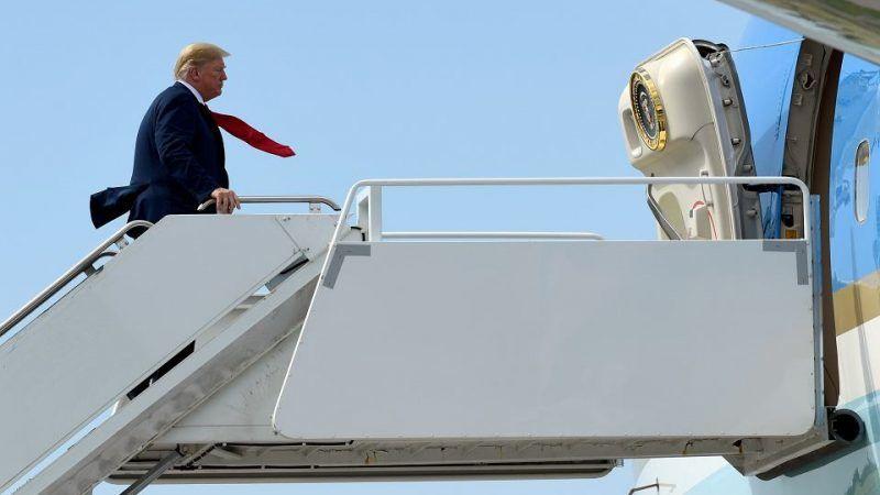 Prezydent Donald Trump, źródło: Gazeta Wyborcza