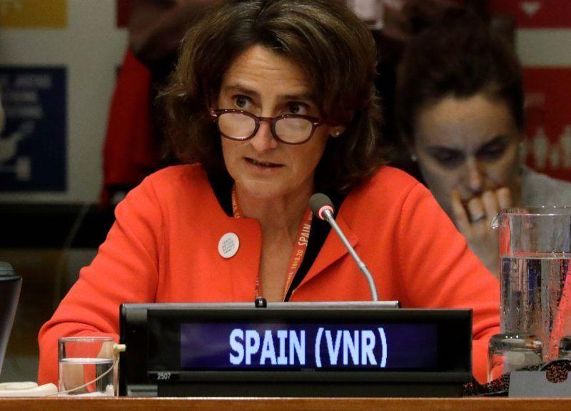 Minister ds. ekologicznej transformacji Hiszpanii, Teresa Ribera.