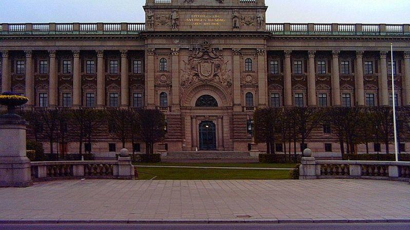 Siedziba Riksdagu, źródło wikimedia, licencja CC BY 2.0