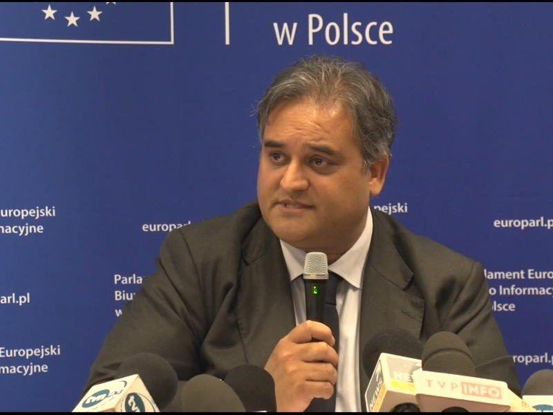Claude Moraes S&D, przewodniczący LIBE. Źródło: Komisja Europejska