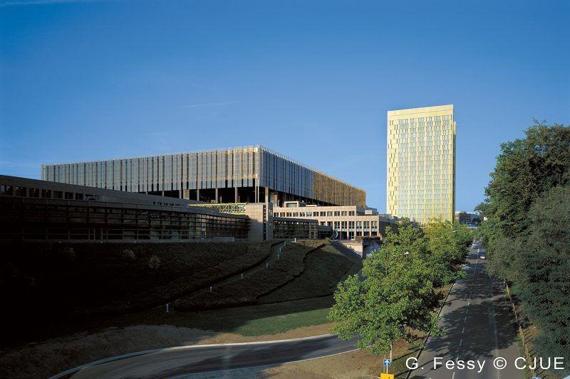 Trybunał Sprawiedliwości UE (budynek), źródło TSUE