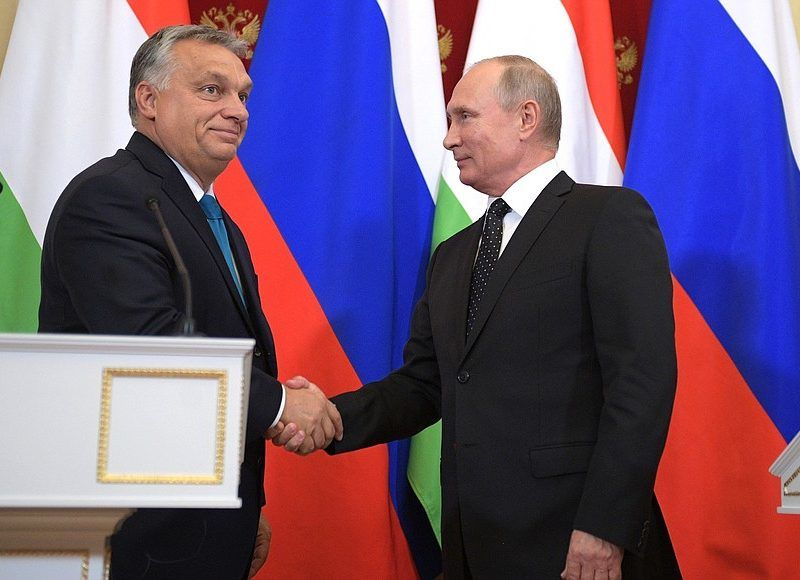 Viktor Orban i Władimir Putin, źródło: Służba Prasowa Prezydenta Federacji Rosyjskiej (en.kremlin.ru)