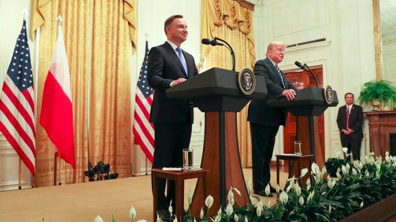 Andrzej Duda i Donald Trump, fot. Jakub Szymczuk, Kancelaria Prezydenta RP