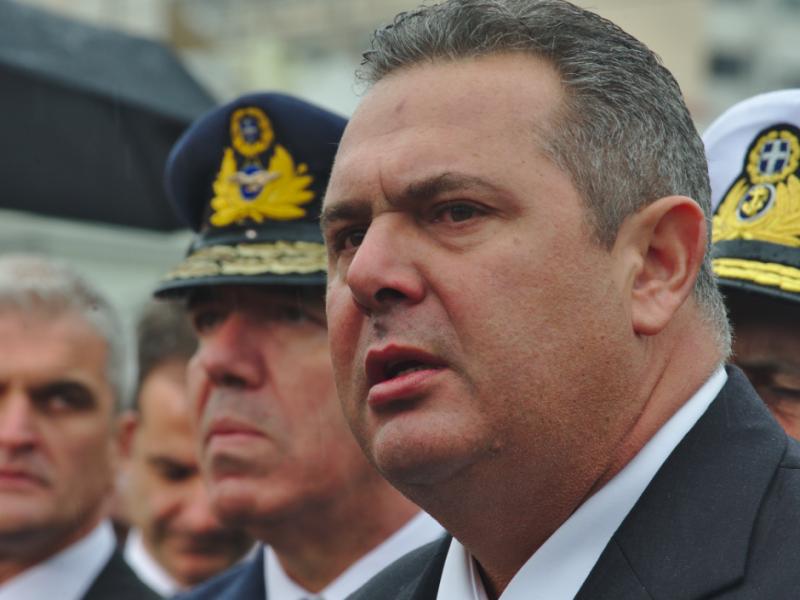 Minister obrony Grecji Panos Kammenos, źródło: Wikipedia/fot. DTRocks