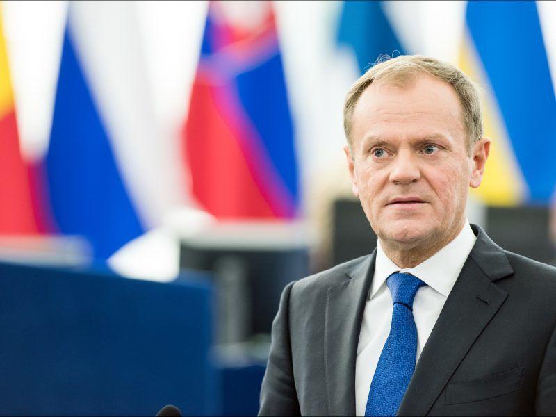 Przewodniczący Rady Europejskiej Donald Tusk, źródło: © European Union 2016 - European Parliament