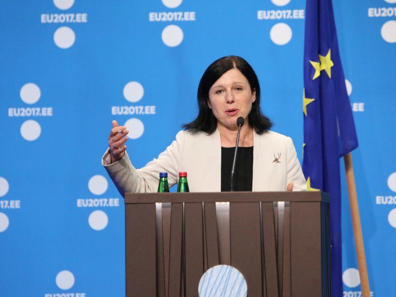 Komisarz Věra Jourová, źródło: Flickr/EU2017EE Estonian Presidency, fot. Annika Haas