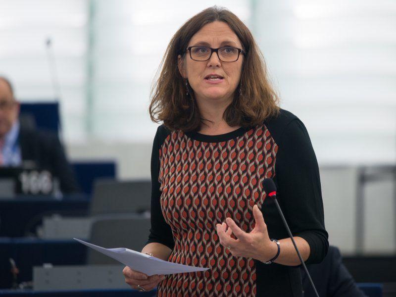 Komisarz ds. handlu Cecilia Malmström, © European Union 2017 - European Parliament