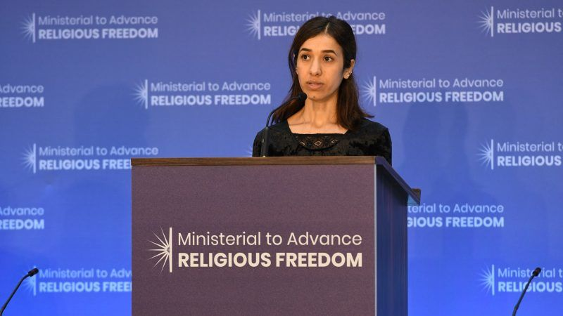 Nadia Murad, źrodło: Flickr/U.S. Department of State