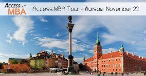 Access MBA Tour w Warszawie @ Regent Warsaw Hotel, ul. Belwederska 23