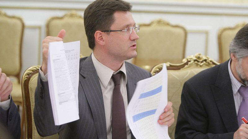 Minister energii Federacji Rosyjskiej Aleksander Nowak