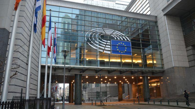 Budynek Parlamentu Europejskiego w Brukseli, źródło: Wikipedia, fot. Steven Lek