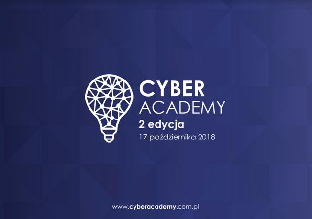 17 października 2018 roku w Szkole Głównej Handlowej w Warszawie odbędzie się druga edycja konferencji Cyber Academy.