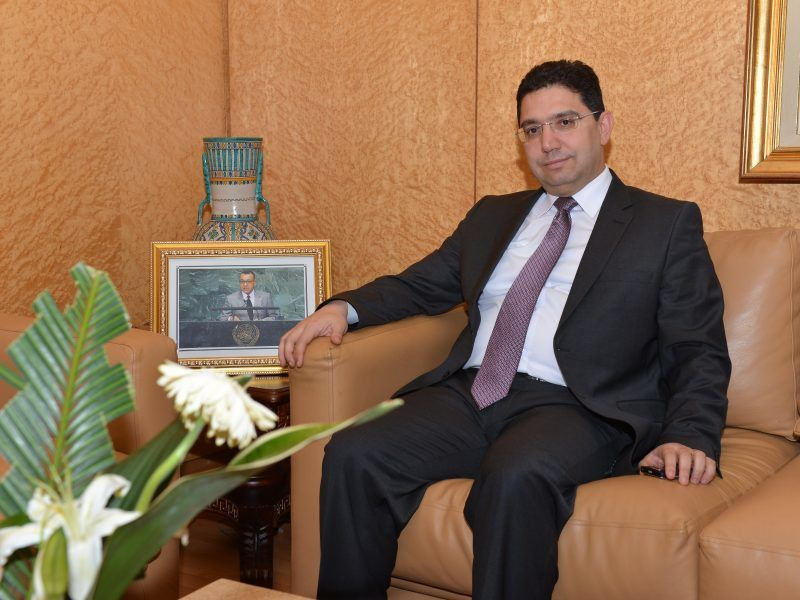 Minister spraw zagranicznych Maroko Nasser Bourita, źródło: Wikipedia, fot. Mohamed Abbassi
