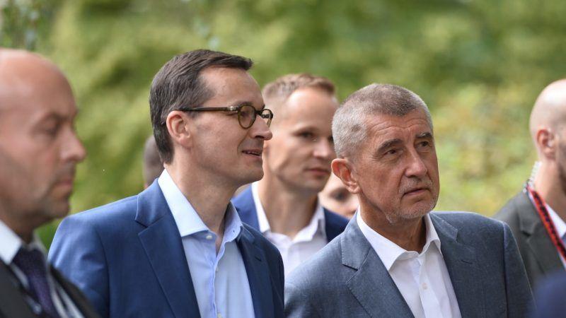 Mateusz Morawiecki i Andrej Babiš. Źródło: © Vláda.cz